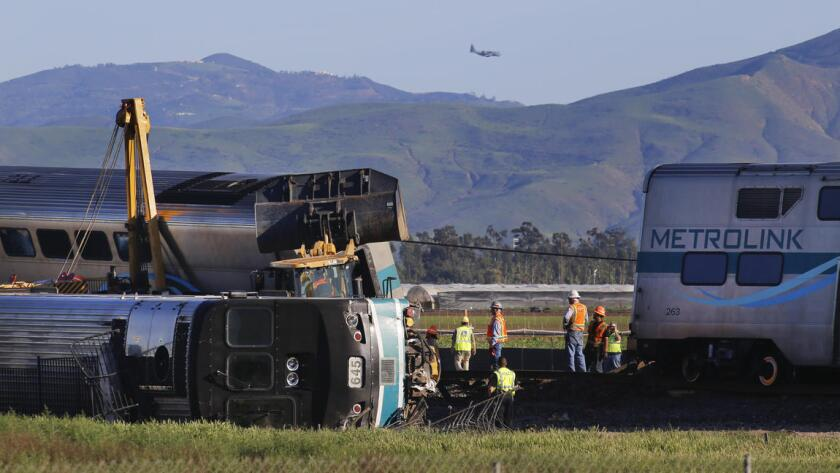 The Feb. 24 Metrolink derailment in Oxnard injured 28 people.