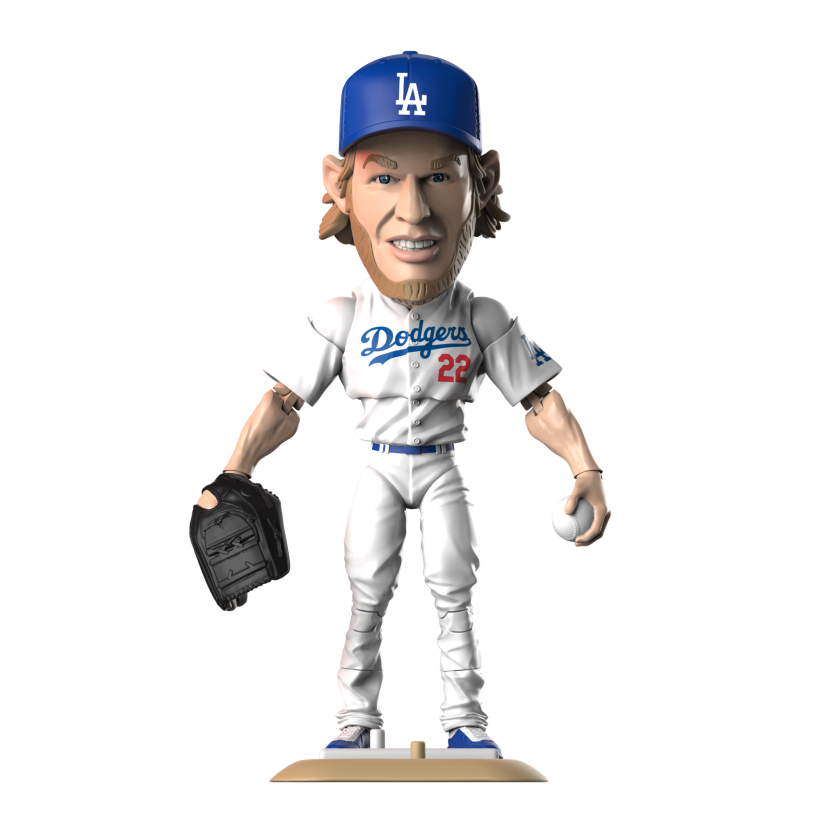 A Clayton Kershaw bobblehead doll is representative of the types of collectibles Loot Crate plans to send sports fans.