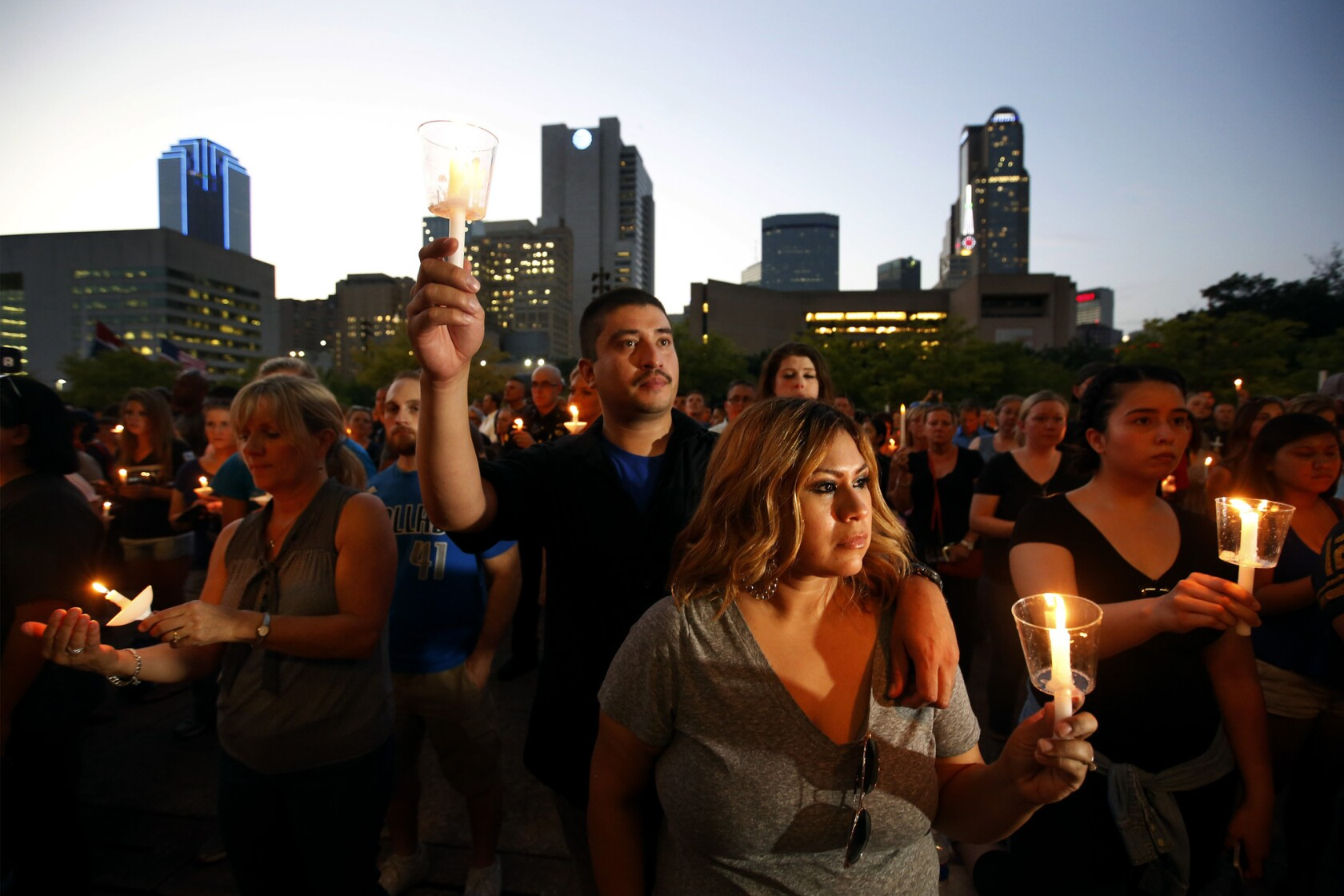 Farewell, brother': Dallas police mourn their fallen