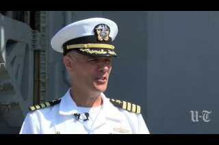 Amphibious warships sail from San Diego, bound for Middle East
