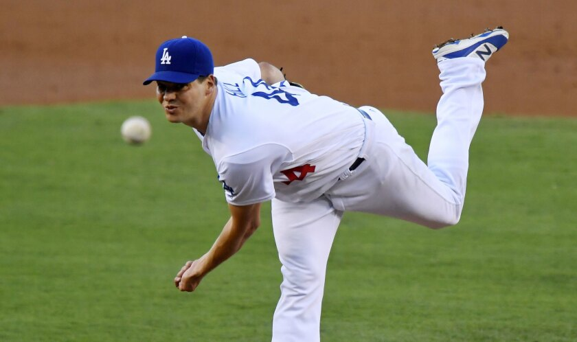 Rich Hill is scheduled to start of the Dodgers in a the decisive Game 5 of a National League division series against the Washington Nationals on Thursday.