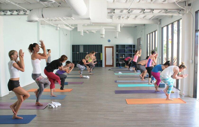 Buddhi Yoga's newly expanded studio.