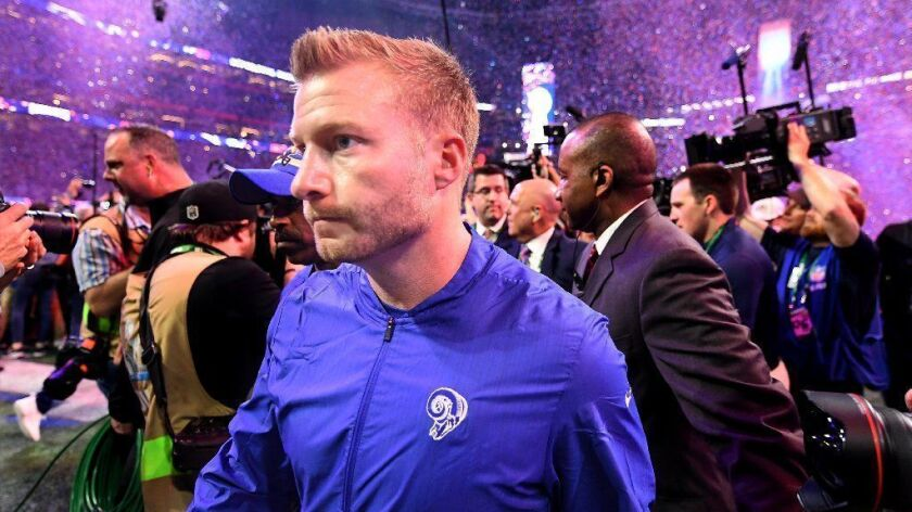 Will coach Sean McVay and the Rams be able to put their Super Bowl loss to the New England Patriots behind them?