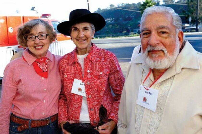 Shirley King, Harriet Wadia and Maneck Wadia Photos by Jon Clark