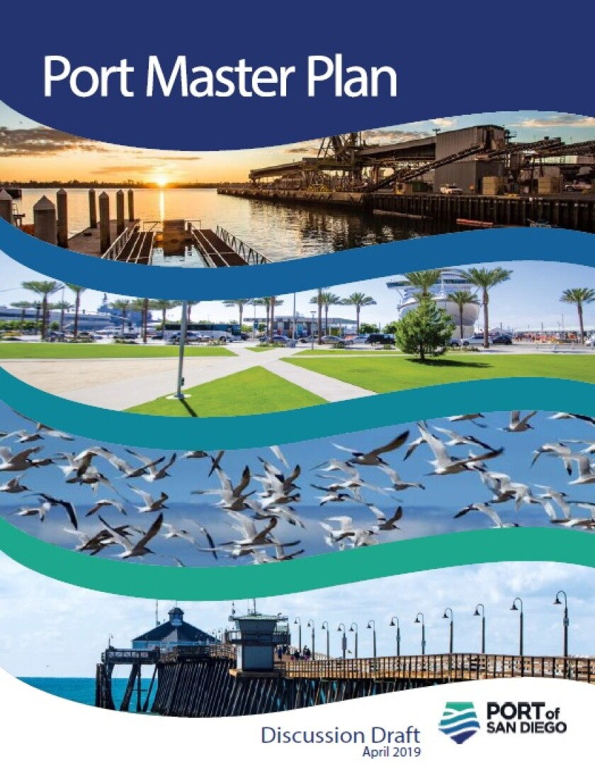 The Port of San Diego Master Plan serves as the primary tool to guide water and land uses and development on Port District lands, tidelands and submerged lands. The original was adopted by the Board of Port Commissioners in January 1964. The Port District runs 34 miles along San Diego Bay, spanning five cities. Find the Master Plan Discussion Draft online at bit.ly/PortofSDDraft