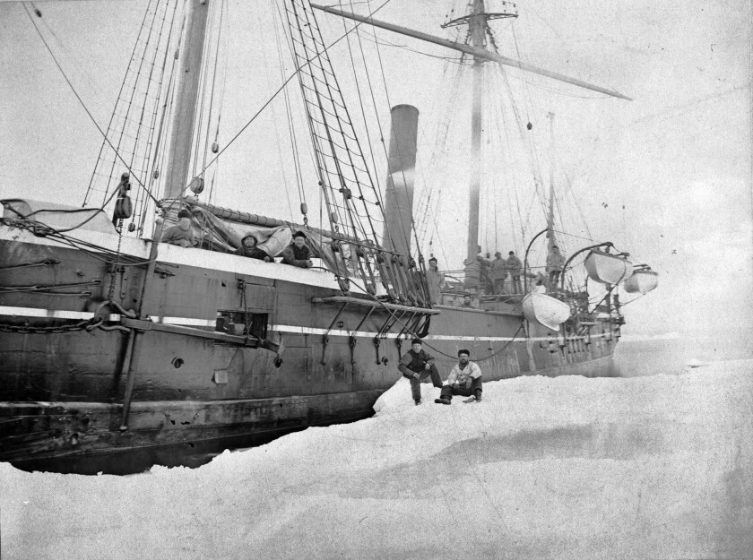 """In """"In the Kingdom of Ice,"""" the Jeannette carries explorers into a terrible voyage, but it takes half the book to get readers there."""