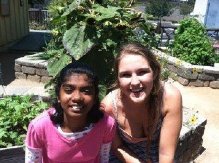 Sai Jeenagala and Isabelle Kaplan.