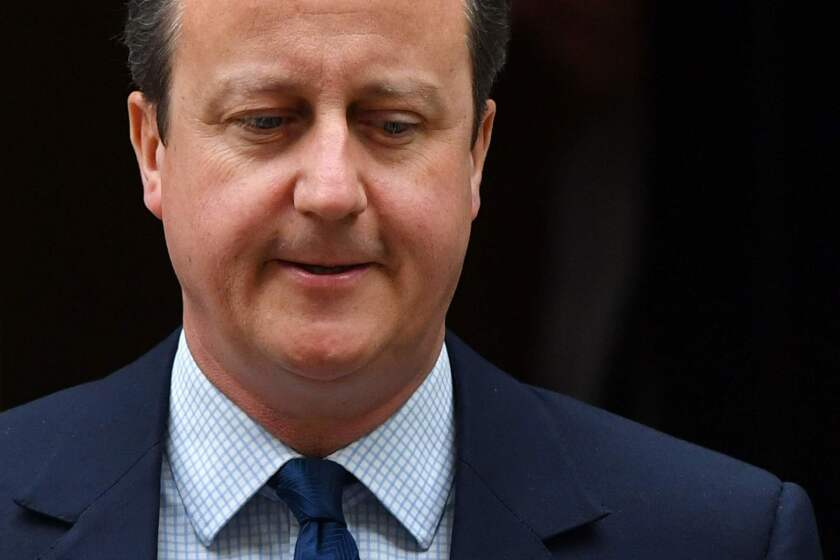 Britain's former Prime Minister David Cameron has resigned his seat in the House of Commons.