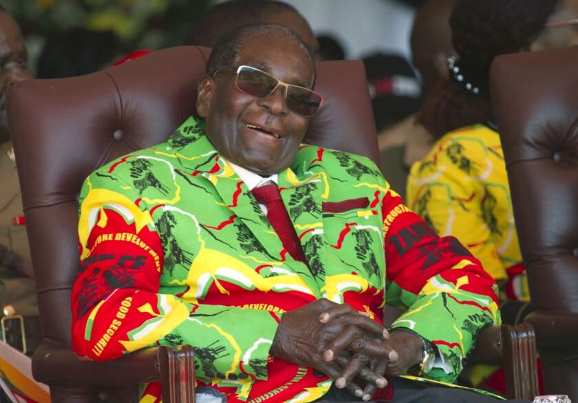 Zimbabwe Mugabe's Estate