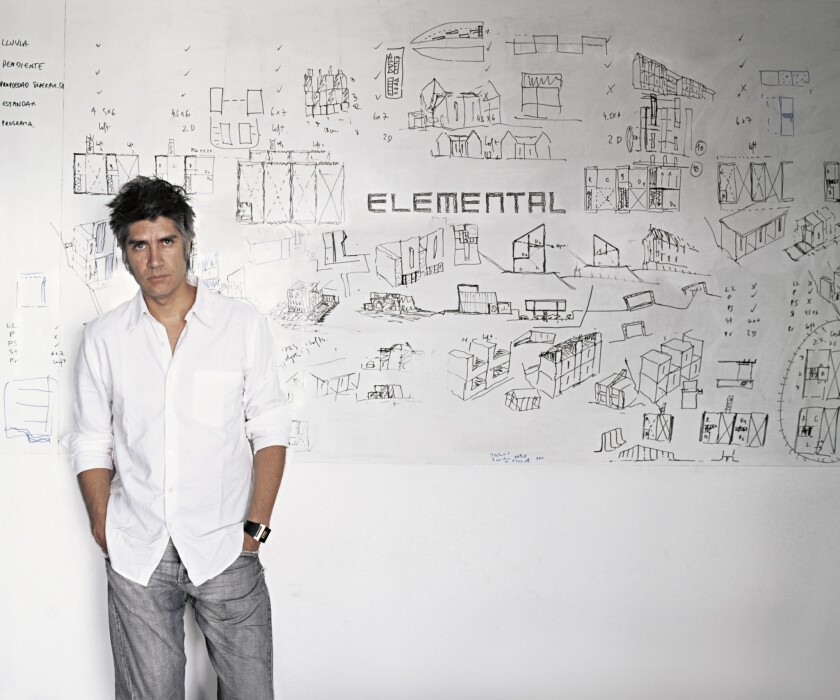 A wave of Chilean architects is achieving an international profile. Among them: Alejandro Aravena, of Elemental, who has delivered TED talks, taught at Harvard and sits on the jury for the Pritzker Prize.
