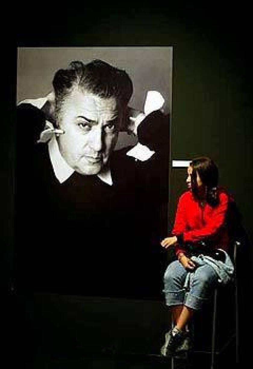 A Vittoriano museum exhibit in Rome celebrates Federico Fellini.