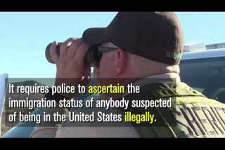 What is Arizona's 'show your papers' law?