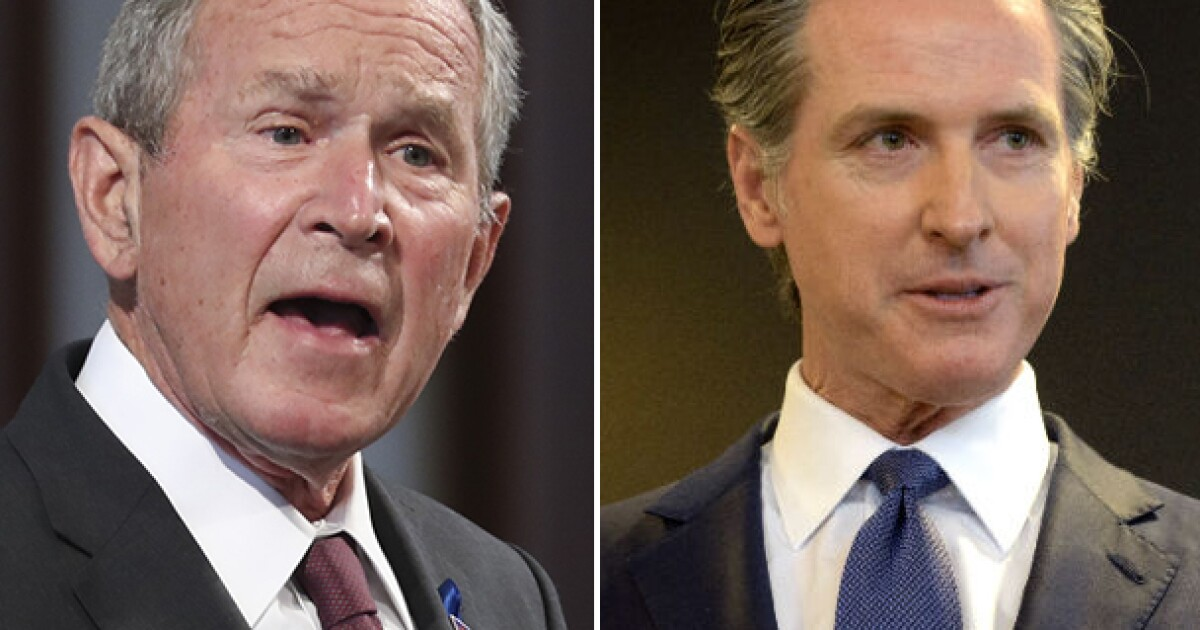National GOP helps Newsom make case recall is partisan attack - Los Angeles Times