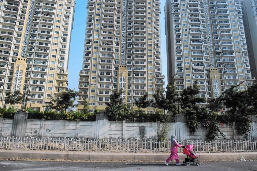 India apartment buildings