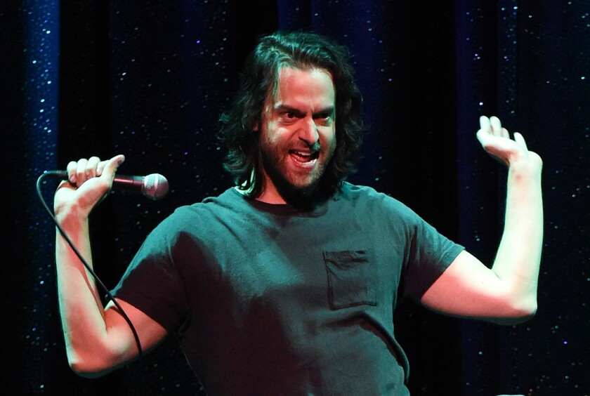 Chris D'Elia Performs At The Mirage In Las Vegas