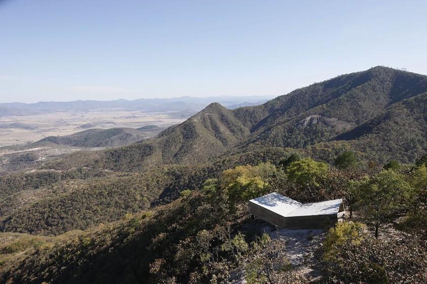 Alejandro Aravena's Las Cruces Pilgrim Lookout Point in Jalisco, Mexico