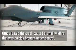 Air Force drone crashes near Mt. Whitney