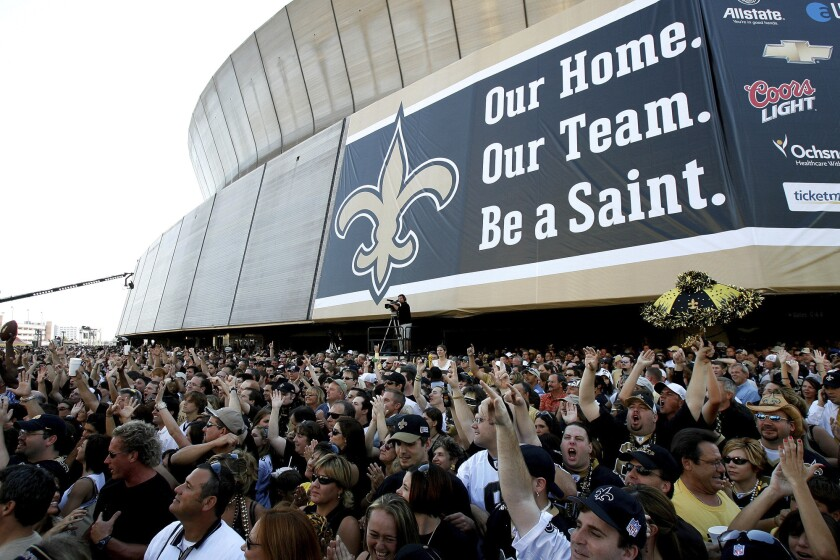 NFL At 100 AP Was There Falcons Saints 2006