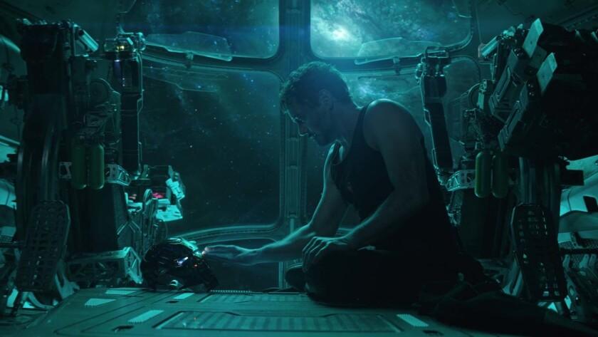 """Tony Stark/Iron Man (Robert Downey Jr.) in Marvel Studios' """"AVENGERS: ENDGAME"""". Photo: Film Frame"""