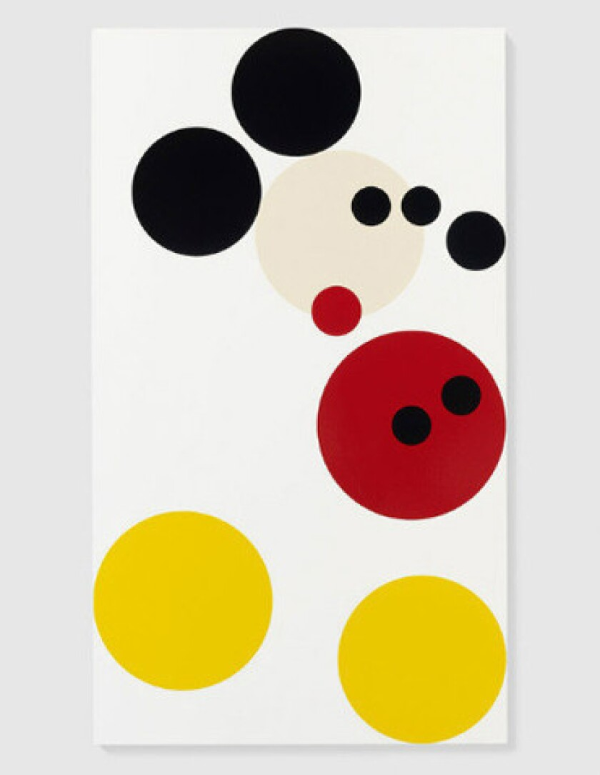 """Mickey"" by Damien Hirst."