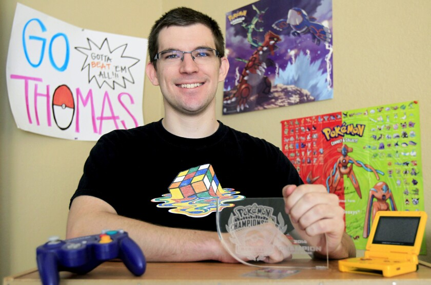 For competitor, Pokemon is no frivolous pastime