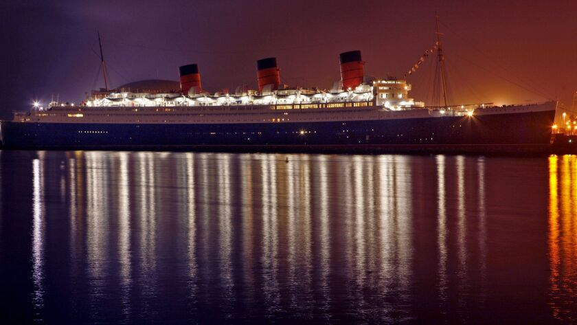 The Queen Mary in Long Beach Harbor has been managed by several companies, hoping to turn the former ocean liner into a profitable floating hotel. Now the ship operators are renting out a room that has been closed for nearly 40 years.
