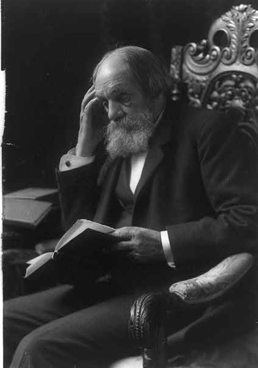 Edward Everett, pictured in 1905