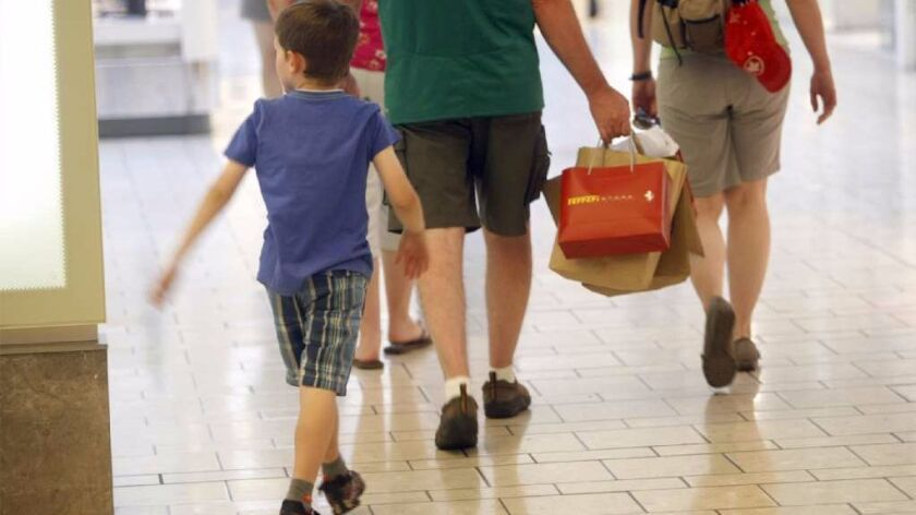 Back-to-school shopping has become a family ritual, which helps mall retailers fight the online onsl
