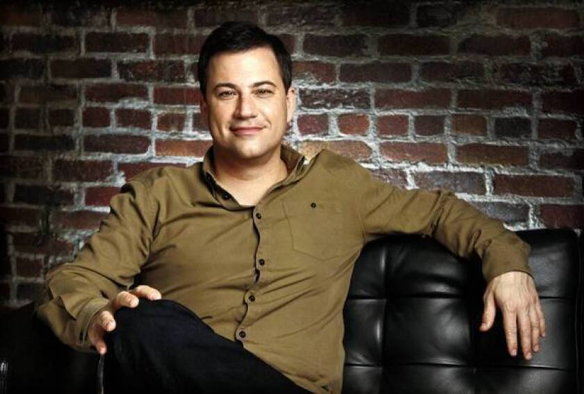 Jimmy Kimmel is excited about his show's move to an earlier time slot.