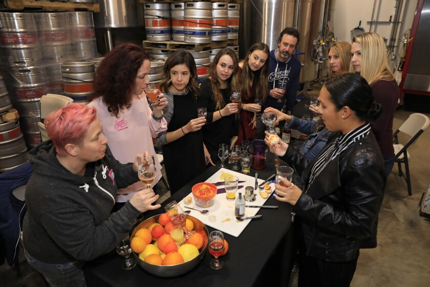 """Women Everyday Rosé"" was collaboratively created by women working in all facets of beer, including public relations, designers, and, of course, brewers."