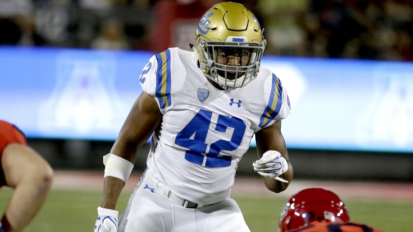 UCLA linebacker Kenny Young will play his final home on Friday against California without the man he calls 'a real mentor' on the sideline.