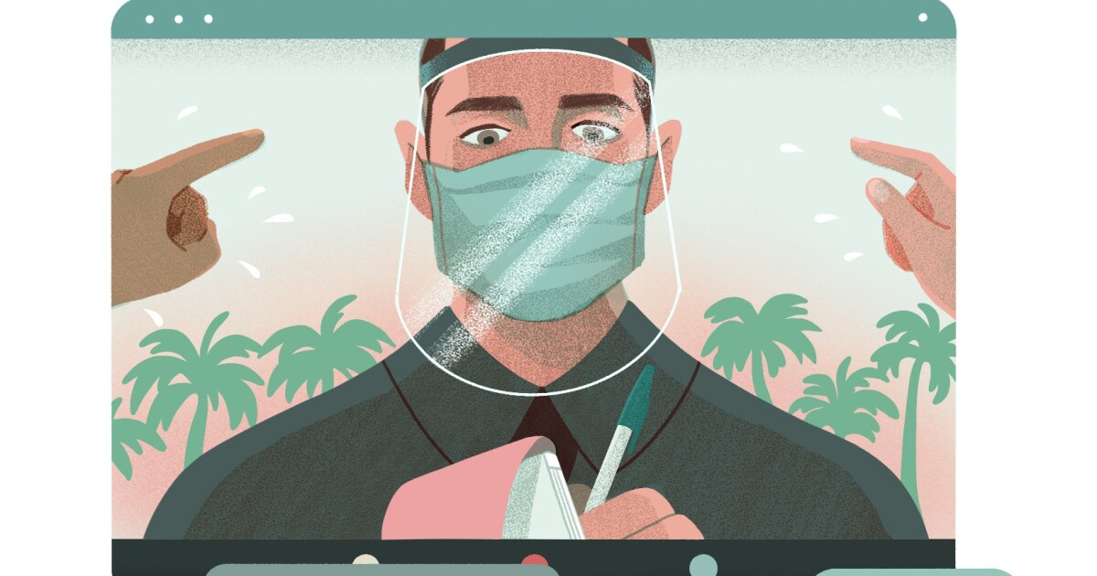 Op-Ed: A year ago, we asked you to share tales from the pandemic. Here's what some of you told us