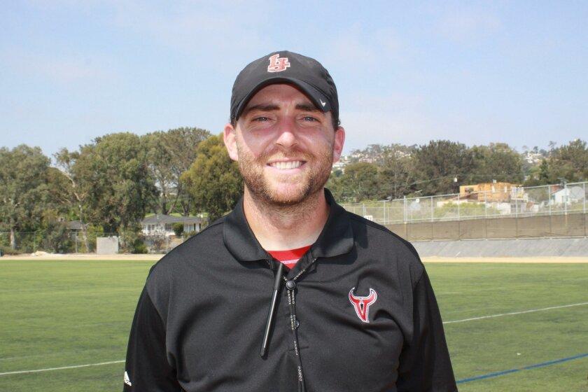 La Jolla High School Head Football Coach Matt Morrison