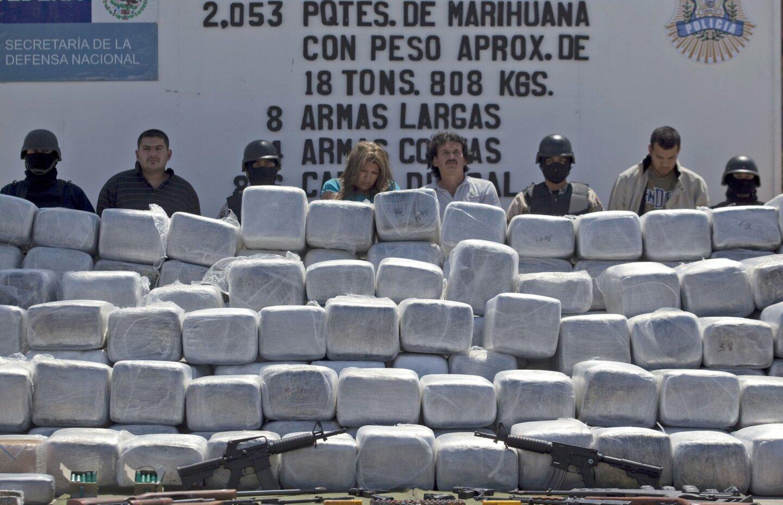 Drug seizures in Tijuana
