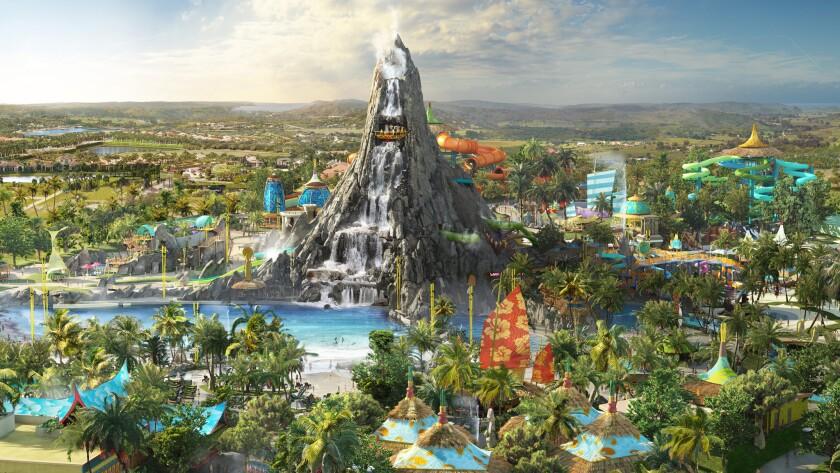 Volcano Bay water park will occupy 30 acres next to Universal's Cabana Beach Resort hotel in Orlando