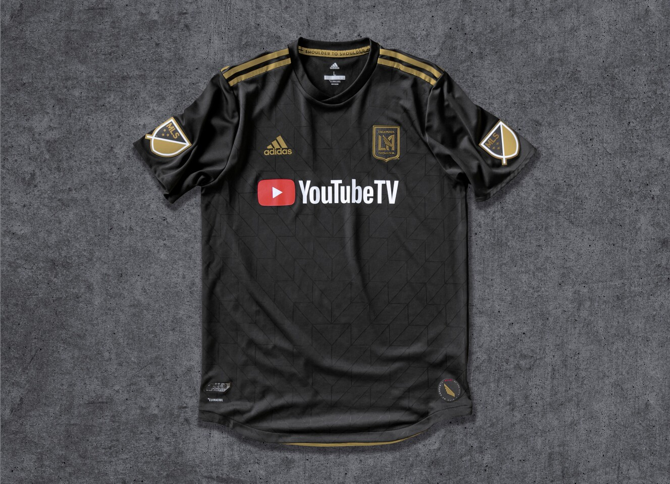 Así son los uniformes del LAFC