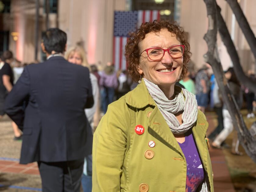 Isabelle Kay of La Jolla