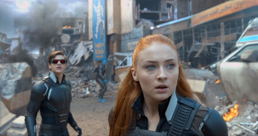 "FILE - In this image released by Twentieth Century Fox, Tye Sheridan, left, and Sophie Turner appear in a scene from, ""X-Men: Apocalypse."" (Twentieth Century Fox via AP, File)"