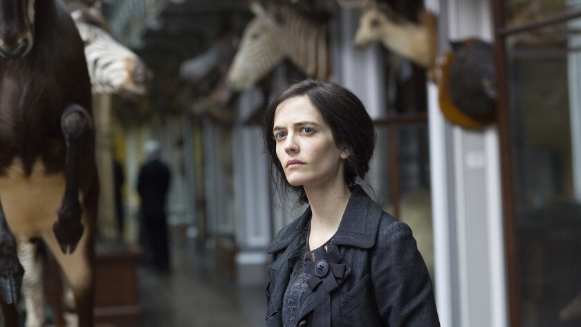 """Eva Green in """"Penny Dreadful"""" on Showtime."""
