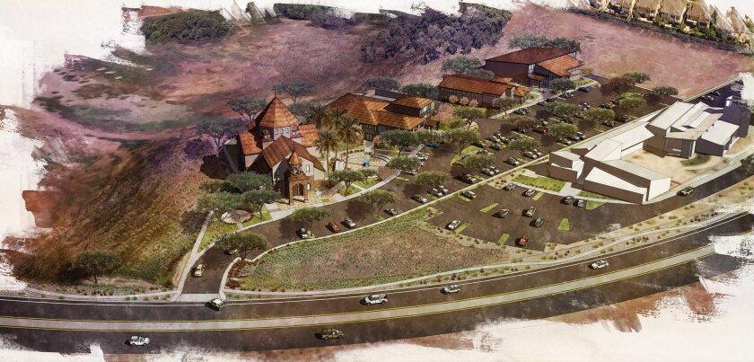 St. John Garabed rendering