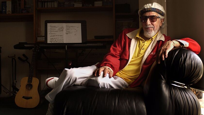 Lou Adler helped create Southern California pop culture in the 1960s including surf and car music and folk rock.