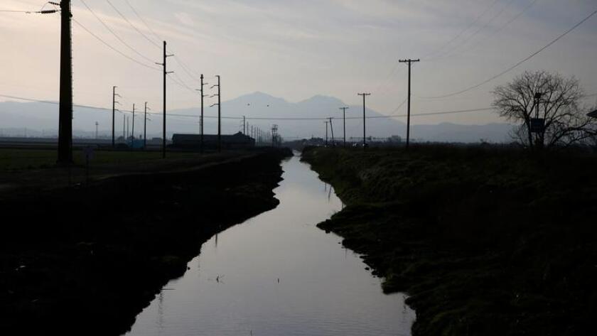 A waterway near Stockton