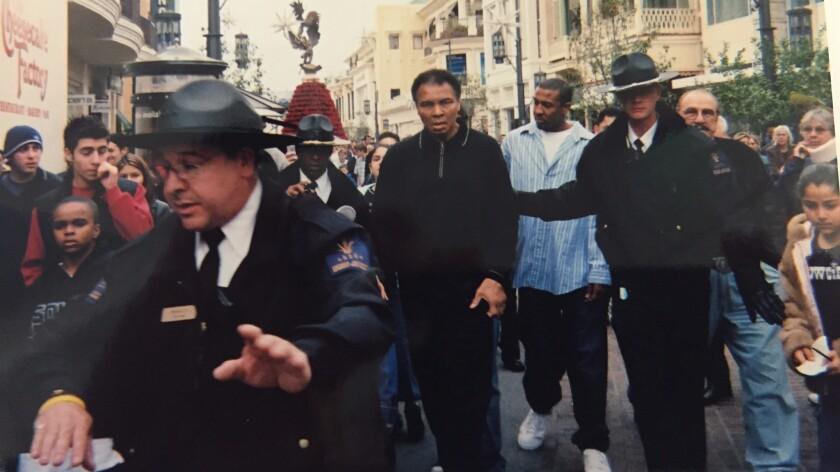 Muhammad Ali at the Grove