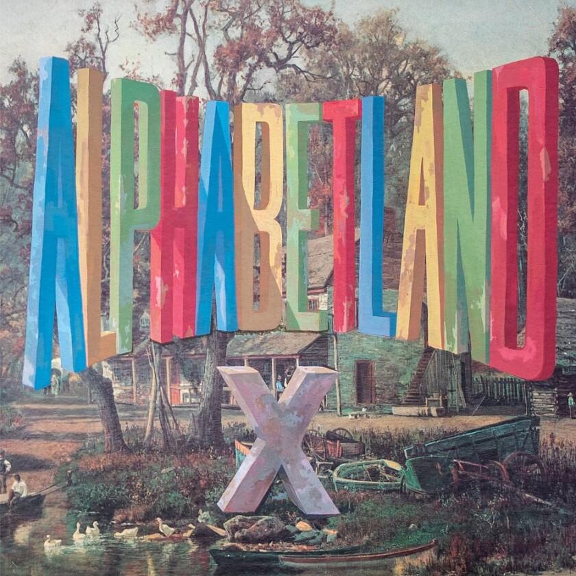 "X ""Alphabetland"" abum cover"