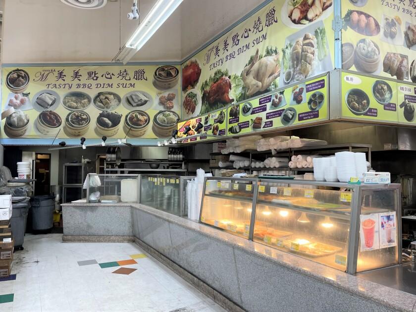 Tasty BBQ & Dim Sum is located inside Sieu Thi Thuan Phat Supermarket.