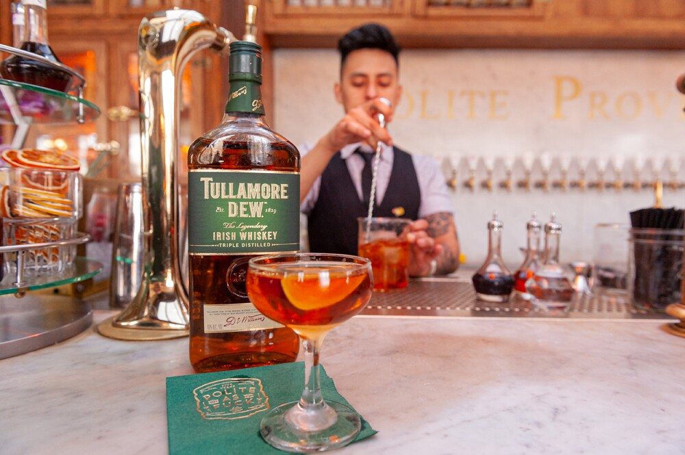 PACIFIC teamed up with Tullamore D.E.W. to celebrate St. Patrick's Day and a love of Irish whiskey during the month of March. Although the month got cut a little short, locals came out for drinks with PACIFIC to try signature Tully drinks created by eight San Diego bars and restaurants.