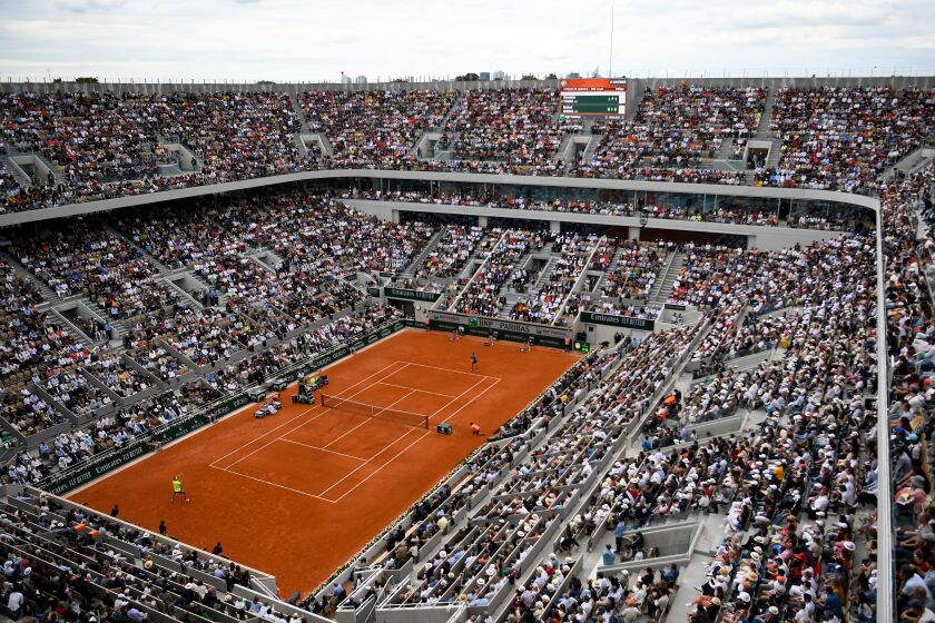 The French Open at Roland Garros has been suspended from May until September because of the coronavirus outbreak.