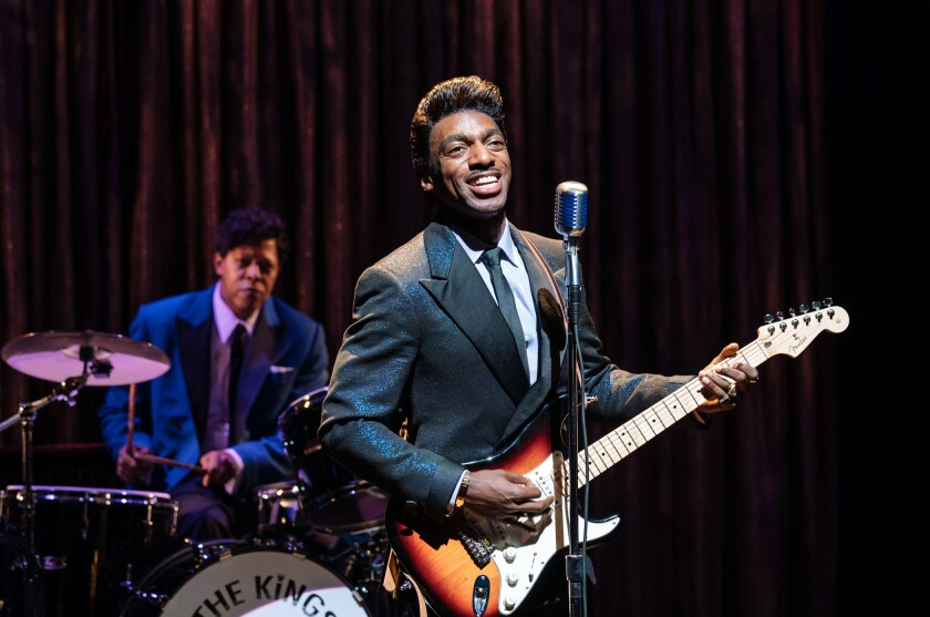 "Daniel J. Watts is Ike Turner in ""Tina: The Tina Turner Musical."""