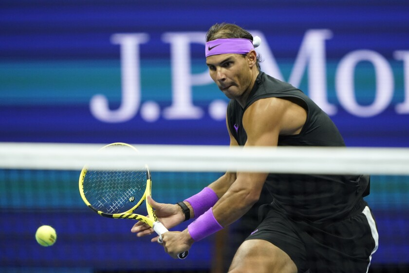 Rafael Nadal Will Play Daniil Medvedev In U S Open Final Los Angeles Times