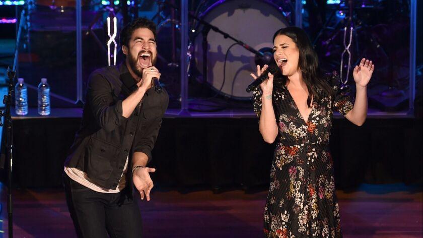 Lea Michele & Darren Criss In Concert - Nashville, Tennessee